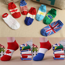 Men Fashion New Ankle Socks  Low Cut Crew Casual Sport Color Cotton Socks 1 Pair