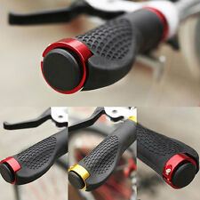 Bike Lock-on Handlebar Hand A Pair Grips Cycling Bicycle MTB BMX Mountain