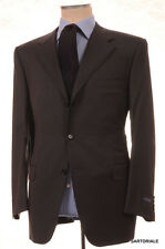 CANALI Italy Gray Solid Super 120's Wool Business Suit NEW Classic
