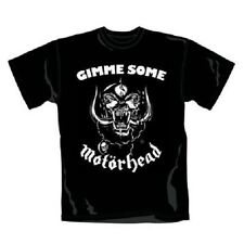 Official T Shirt MOTORHEAD- GIMME SOME All Sizes Black Mens Licensed Merch New