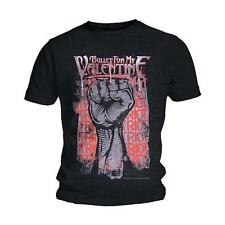 Official T Shirt BULLET FOR MY VALENTINE- RIOT All Sizes Black Mens Licensed New