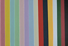 A6 Card Stock - Pack of 20 - 240gsm - Assorted Colours - Cardmaking Offcuts