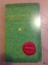 Quidditch Through The Ages by Kennilworthy Whisp (JK Rowling 2001)
