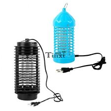 Electronic Flying Insect Pest Mosquito Gnat Bug Moth Killer Lamp EU Plug  TXWD