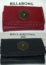 BILLABONG WALLET PURSE CLUTCH LADIES NEW SOUTH CONGRESS Black Desert Red  PU TRI