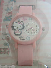 HELLO KITTY WATCH HK023 OFFICIAL SANRIO PINK HEART GENUINE