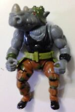 1988 Playmates Vintage Teenage Mutnat Ninja Turtles Rocksteady TMNT Loose w/Belt