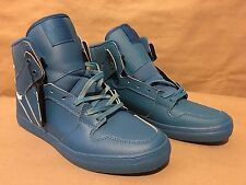 S28081 Supra Vaider Skate Shoes Blue Action Leather Size 11 NIB Blemished Laces
