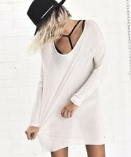 ONE TEASPOON SHIRT XS S M SOHO BLEND DRESS Relaxe Light Pink Top Basic NWT