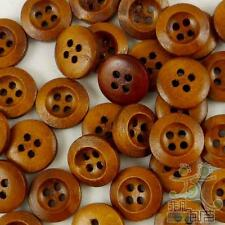 20/100pcs Wood Round Buttons Lot 13x13mm 4 Holes Craft/kids Sewing Cards U pick