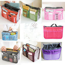 Women Lady Travel Insert Handbag Purse Large Liner Organizer Tidy Bag us