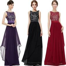 Sexy Women's Lace Evening Formal Party Ball Gown Prom Bridesmaid Long Maxi Dress