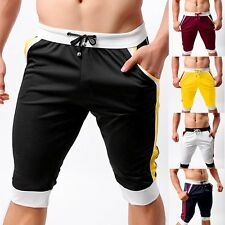 Men's Summer Casual Sports Gym Pants Shorts Trousers Running Jogging Beach Pants