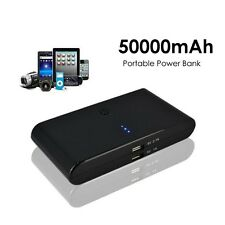 50000mAh Backup External Battery USB Power Bank Pack Charger for Cell Phone
