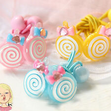 Candy Color Lovely Children Girls Baby Hair Accessories Hair Rope Hair Band Gift