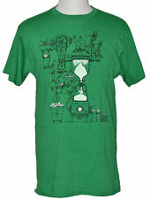 Burton Mountain Dew T-shirt Sustainability Fabric Graphic Tee Green NWT