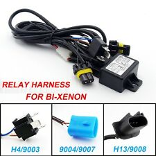 HID Car Relay Harness H4/9003 9004/9007 H13/9008 Bi-Xenon Wiring Wire Controller