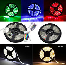 5M 300led SMD 3528/5050 Waterproof Warm/Cool White RGB/RGBW Flexible Strip Light