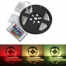5M RGB 5050 SMD 150/300 Non-Waterproof LED Flexible Light Strip  Lamp 12V