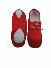 HenryG Canvas, Split Suede Sole Ballet Shoes, Ballet Slipper, Ballet Gym Shoes