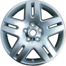 New 17x6.5 Alloy Wheel, Rim Sparkle Silver Painted with Machined Face - 5071