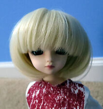 Doll Wig Short Bob Blonde BJD Ball Jointed Size 6, 7, 8, 9 NEW