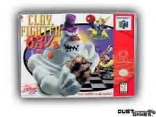 Clayfighter 63 1/3 Nintendo 64 N64 Game Case Box Professional Quality!!!