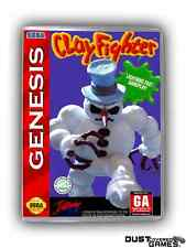 Clayfighter Genesis GEN Game Case Box Professional Quality!!!