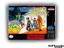 Wizard of Oz, The Super Nintendo SNES Game Case Box Professional Quality!!!