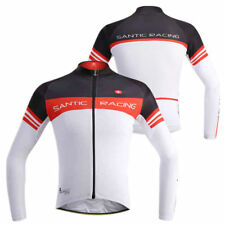 New Santic Cycling Bike Bicycle Sport Long Sleeve Jersey Shirt Jacket Riding DS