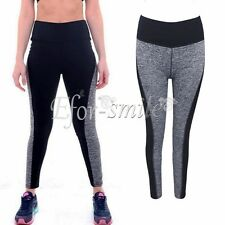 Womens Ladies Running Yoga Fitness Leggings Gym Exercise Sports Pants Trousers