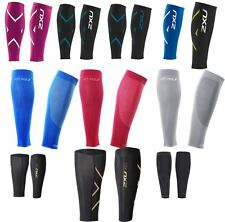 2XU Compression Calf Guards and Performance Run Calf Sleeves Unisex