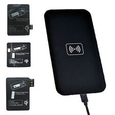 For Samsung Galaxy S4 S3 S5 Note 3 Qi Wireless Charger Charging Pad Receiver