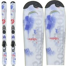 Skiing occasion junior Rossignol bandit 70 2ème choice + fixings