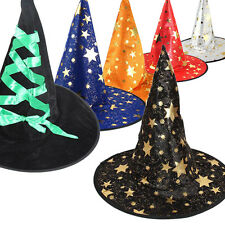 Monolayer Adult Womens Witch Cap For Halloween Costume Party Cosplay Fancy Hat