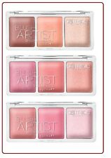 Catrice blush artist shading palettes 3 varieties for colour accents&highlights