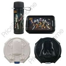 STAR WARS LUNCH BOXES CHILDRENS SCHOOL SNACKS & LUNCH BOX OFFICIAL NEW