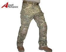New Tactical Military Camo BDU Pants Army Combat Trousers with Knee Pads Badland