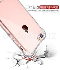 Shockproof Air Cushion TPU Bumper Acrylic Clear Case For Apple Iphone 5 5c 5S SE
