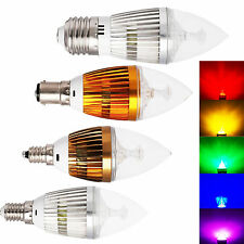 AC 85-265V Sharp LED Chandelier Bulb 6W 8W 10W Candle Lights Lamp Energy Saving