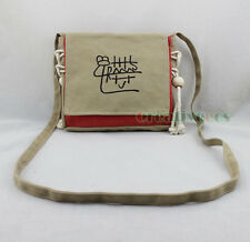 Vintage Ethnic Canvas Belt Satchel Side Shoulder Messenger Crossbody Casual Bag