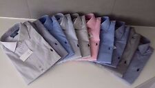 POLO RALPH LAUREN MENs NAVY BLUE PINK REGENT CUSTOM FIT SHIRT 15 15.5 16 16.5