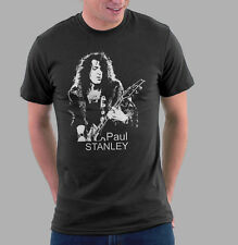 KISS T-shirt Paul Stanley Shirt Ibanez Guitar Black Shirts -126