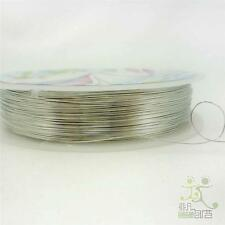 1 Roll Mixed Silver Copper Bead Wire Cord String Thread Jewllery Making DIY