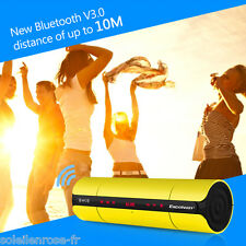 Wireless Bluetooth Speaker Touch Control USB for SmartPhone/Tablet/PC 3Colors US