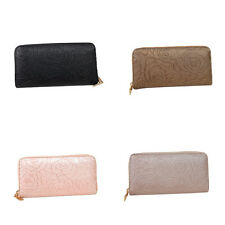 1X Women PU Leather Wallet Lady Long Card Holder Handbag Bag Clutch Purse NEW MN