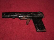 Vintage Wyandotte #41 Black Metal Water Pistol Gun Toy