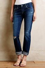 ANTHROPOLOGIE AG Adriano Goldschmied The Tomboy Relaxed Straight Jeans NwT 4 6 8