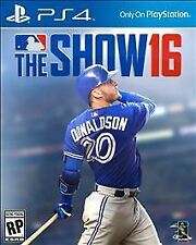 MLB: The Show 16 (Sony PlayStation 4, PS4, 2016) Brand New & Factory Sealed