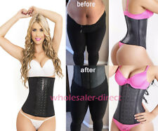 Latex Sport Waist Trainer Cincher Underbust Corset Body Shaper Workout Band Faja